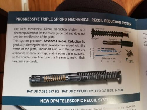 DPM Recoil Reduction System for Walther P99 QR PPQ PPQ M2 PPQ Navy