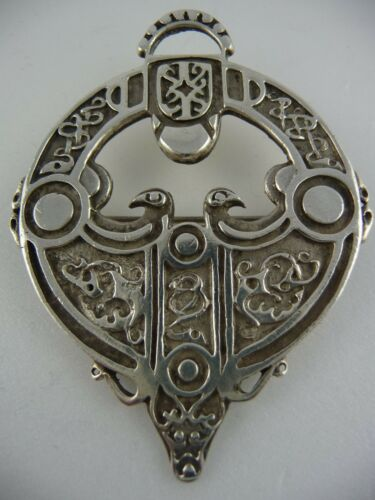 "Ola Gorie Silver Aikerness Necklace 16/"" Chain Celtic Scottish"
