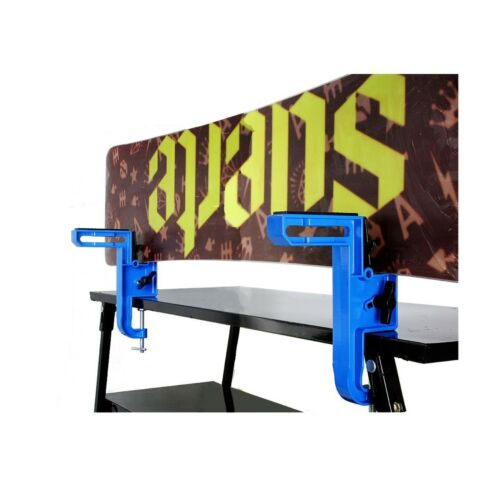 XCMAN Aluminium Material Multifunction Ski and Snowboard Vise for Tuning and ...