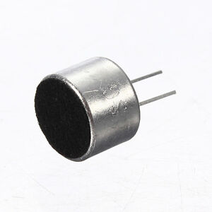 10-Pcs-2-Pin-Mini-MIC-Capsule-Electret-Condenser-Microphone-Silver-Tone-Black-PK