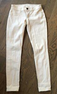 Details about NWOT Victoria's Secret VS Siren Ivory Skinny Low Rise Jeans Pants Size 2