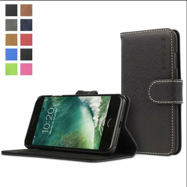 iPhone 8 Plus Flip Case Cover for Leather Card Holders Luxury Business Wallet case Kickstand Flip Cover