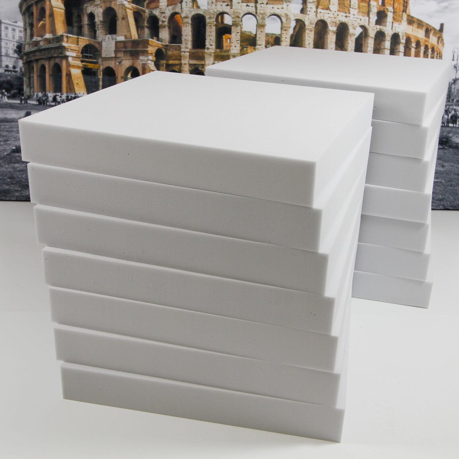 12 Schall Lärm Dämmung Akustik Absorber Platte 50x50x7 aus Basotect® G+ Hellgrau