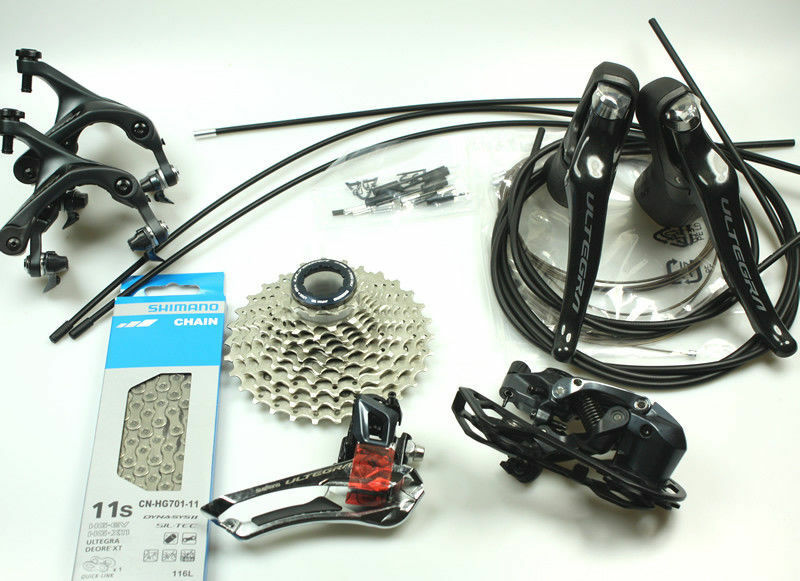 2019 Shimano Ultegra  Group R8000 11s 6pc Groupset Kit 11x25 28 30 32 34  factory outlet store