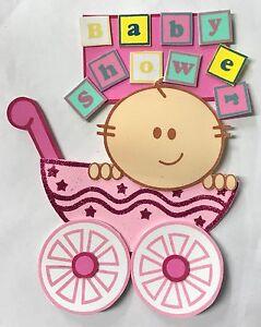 10pc Baby Shower Centerpiece Decoration Foam Girl-Boy Favor Baby Carriage
