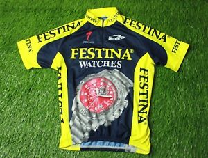 e35f5c2b6 Image is loading CYCLING-SHIRT-JERSEY-MAGLIA-CAMISETA-TRIKOT-FESTINA-WATCHES -