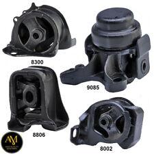 Fits:92-96 HONDA PRELUDE 2.2L//2.3L ENGINE /& TRANS MOUNT SET 4PCS for AUTO