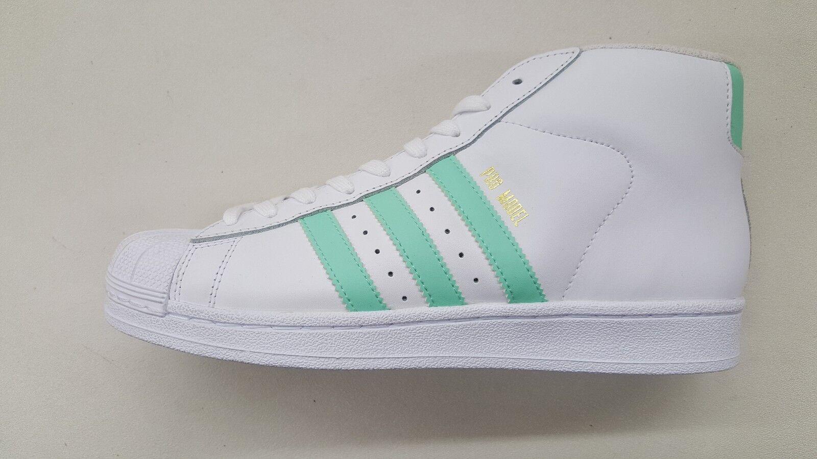 Adidas originals pro model weiße weiße model ostern grün gold mens größe turnschuhe by3728 d919fd