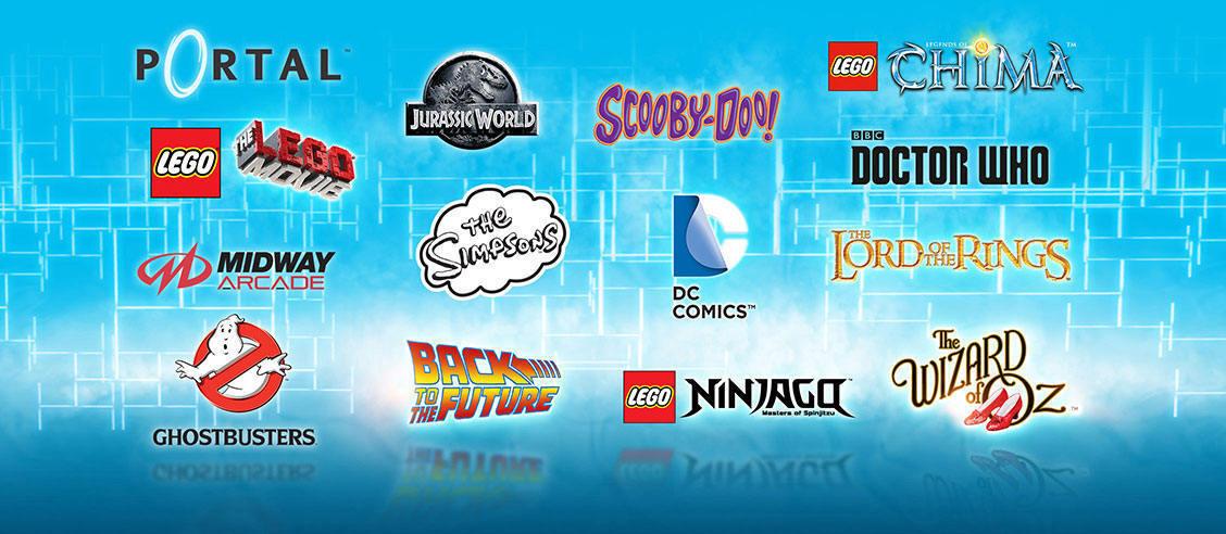 Constructibles® x1 LEGO® Dimensions Toy Tag You Pick - Bulk Parts