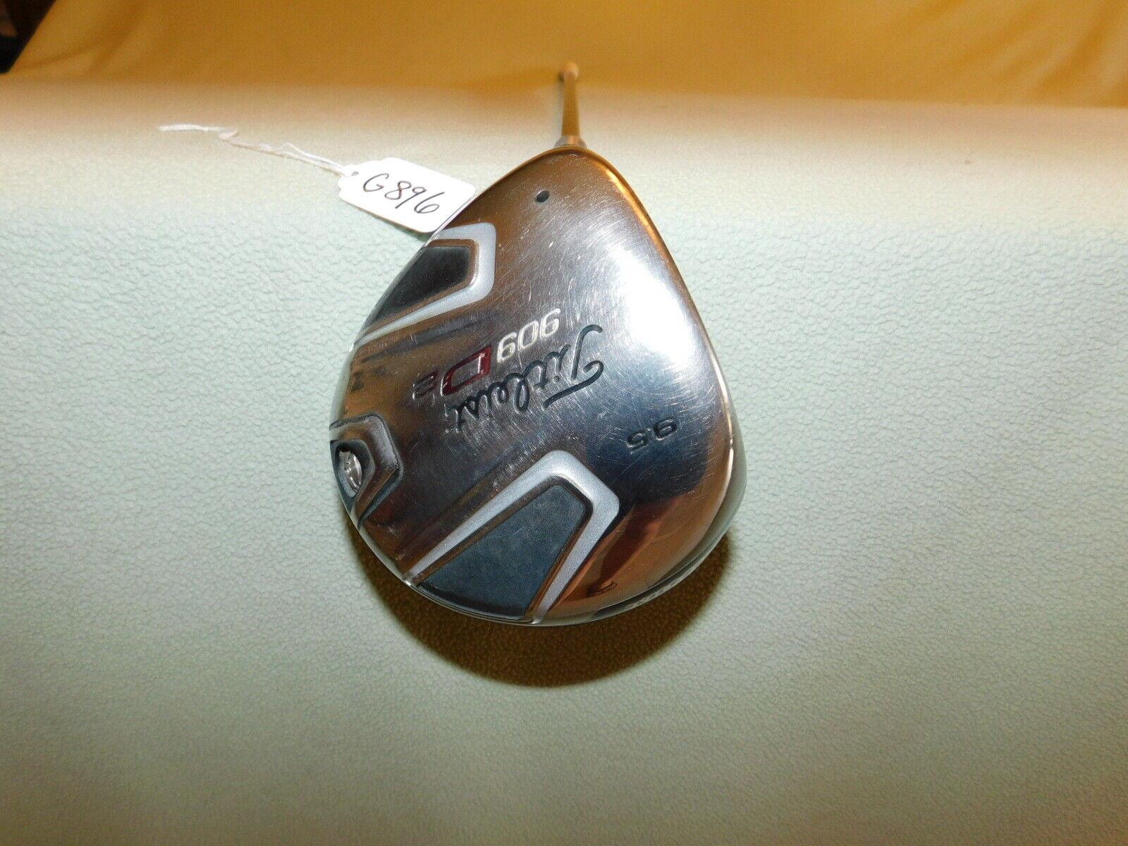 2009 zurdo Titleist 909 D2 rígido de la  flexión 9.5  Driver G896  80% de descuento