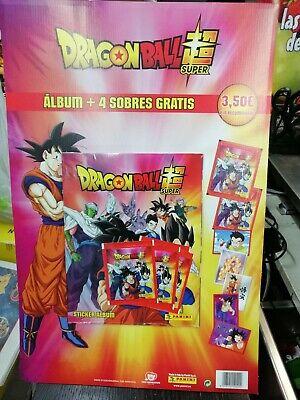 4 Sobres 2020 Panini Dragon Ball Super Album