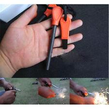 Large Emergency Magnesium Flint Fire Starter Rod Lighter Camping Survival Tool