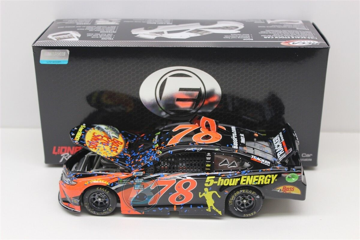 MARTIN TRUEX JR  78 2018 BASS PRO SHOPS AUTO CLUB RACED WIN ELITE 1 24 FREE SHIP