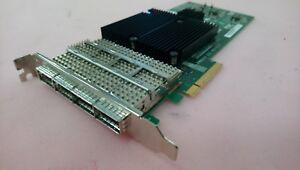 Netapp Adaptateur De Bus Hôte Sas 4-port 3/6 Gb Qsfp Pcie 111-00341+f2-afficher Le Titre D'origine