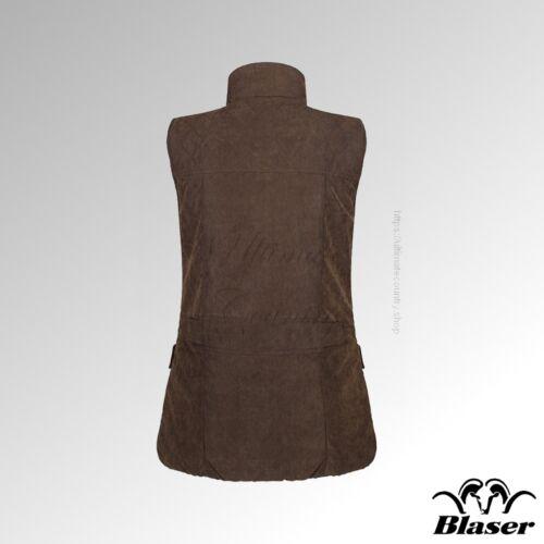 117072 001 Marron Ladies Vest Matelassé 576 Blaser Mélange Argali RvYwWqf