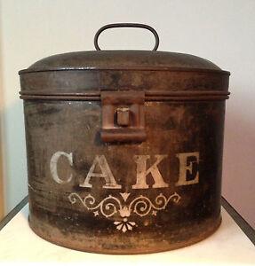 Antique Cake Tins