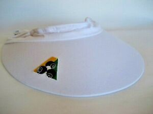 New-White-Shoestring-Visor-GREAT-VALUE-Now-only-16