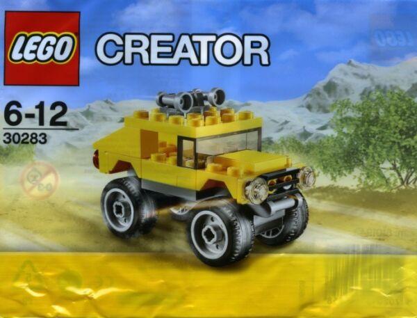 Lego Creator Promotion Polybag 30283 Off Roader 4x4 Entièrement Neuf Dans Sa Boîte Neuf-envoi Gratuit!