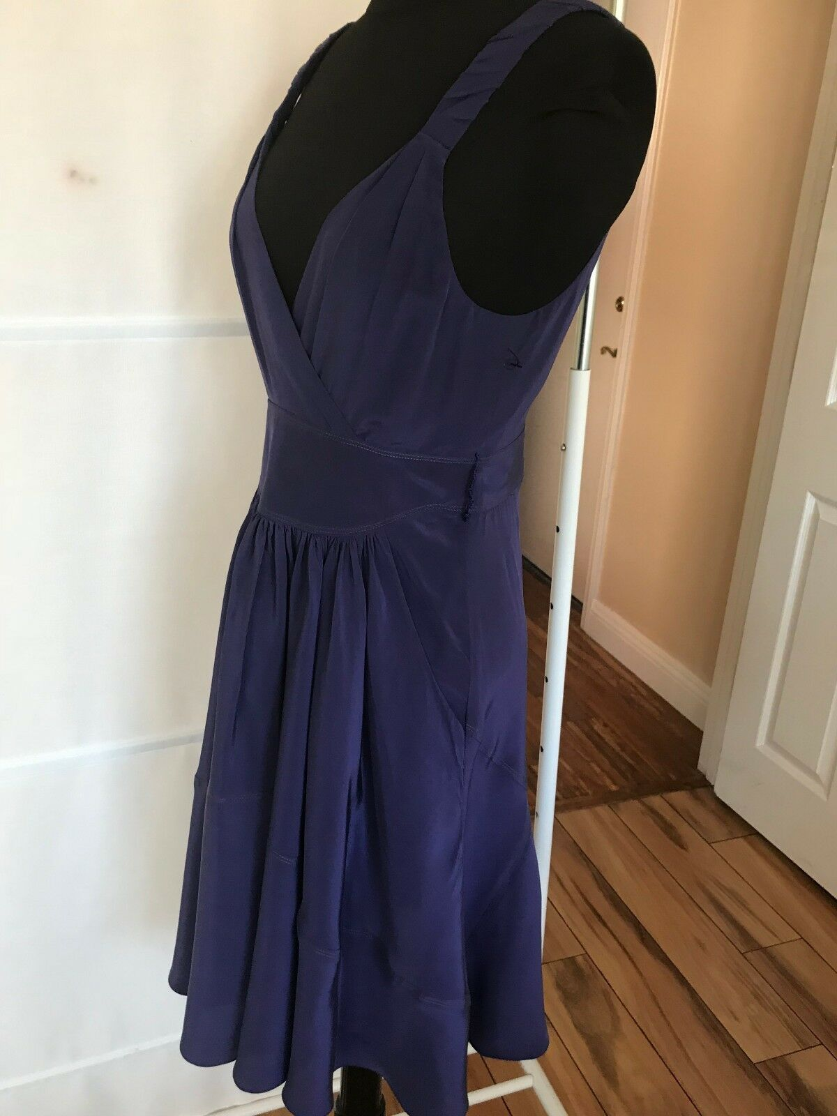 VENA CAVA CAVA CAVA SLEEVELESS SILK DRESS Size  XS US 2 a4f643