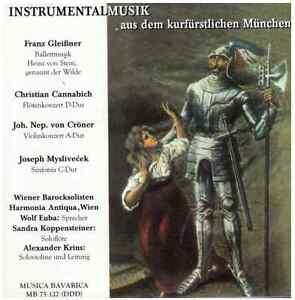 Musica-Bavarica-CD-Instrumentalmusik-aus-dem-kurfuerstlichen-Muenchen
