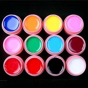12-Pcs-Solid-Color-Mix-Pure-Nail-Art-UV-Builder-Gel-Set-for-Acrylic-Tips-Pink