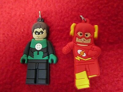 Green Lantern & The Flash Jewelry Making Legos - Make your Own Jewelry marvel