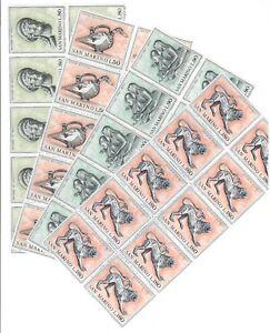 DEALER STOCK SAN MARINO MNH 1971 Etrusk Art 4v 10 SETS s32711