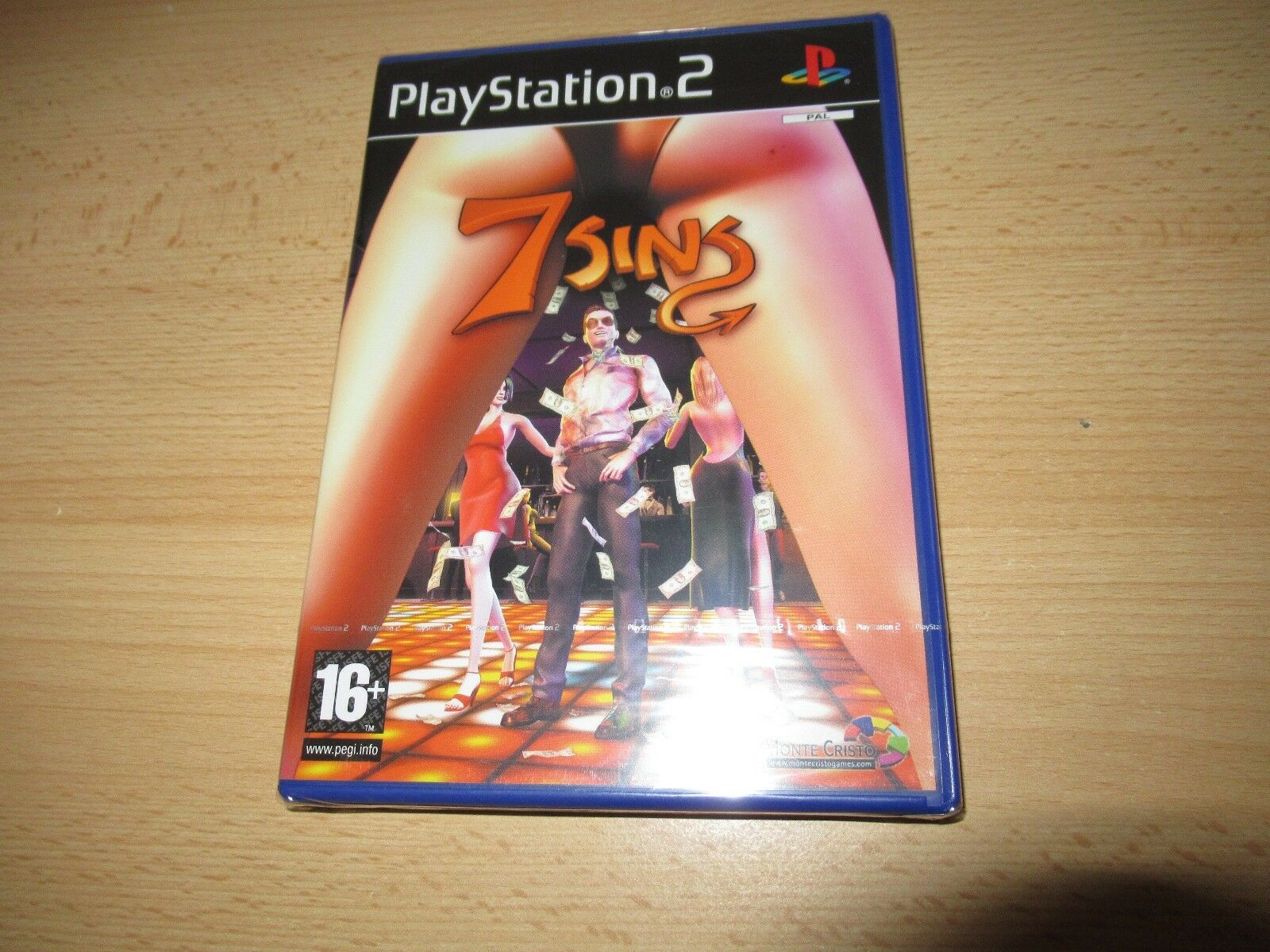 7 Sins Seven Playstation 2 Ps2 New Sealed Pal Version For Sale