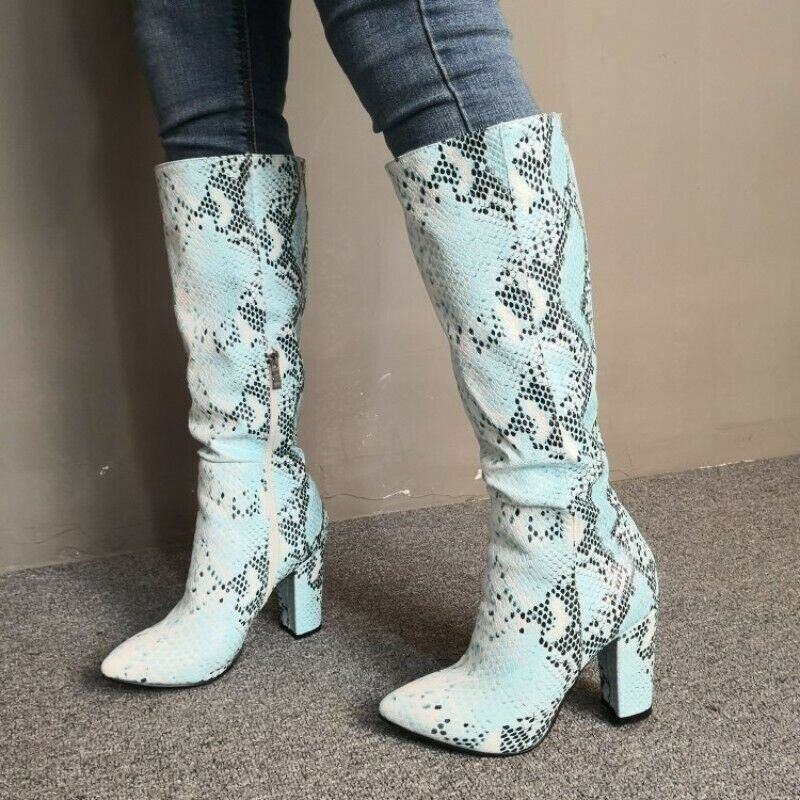 Ven a elegir tu propio estilo deportivo. Color a medida mujeres mujeres mujeres Caballero botas Mitad de Pantorrilla en Punta Zapatos De Gran Tamaño 35-47  100% precio garantizado