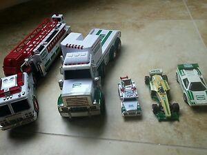 Lot Of 5 Older Hess Toy Cars Trucks Ebay