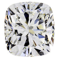 0.90 carat CUSHION cut DIAMOND GIA report E color VS1 clarity excellent loose