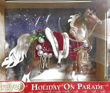 Breyer Christmas Horse 2013 Horse Holiday on Parade Palomino Saddlebred NIB