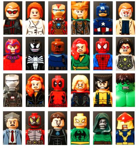 Mini Figuras De Star Wars Con Base 100/% juego de LEGO compatible Marvel Dc