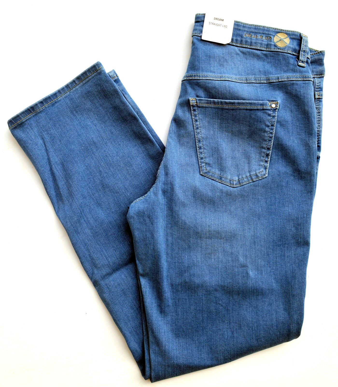 MAC Jeans DREAM straight fit  Stretch blue bluee Denim Gr.40 L 30 NB