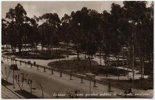 cartolina militare ASMARA nuovi giardini pubblici di olezzanti eucaliptus