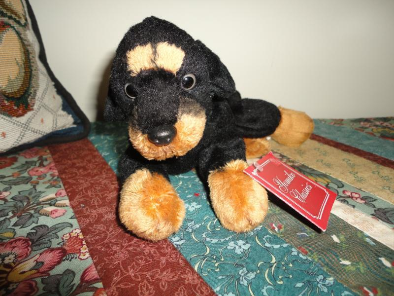Russ Yomiko Classics RANDY ROTTWEILER Puppy Dog with Tag