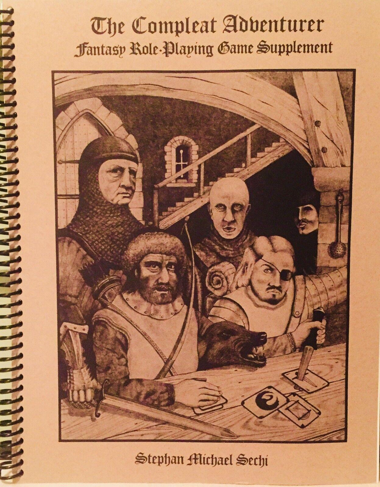 3 Rare RPG AD&D fantasyc Alternatives Compleat  Adventurer Alchemist Spell Caster  più preferenziale