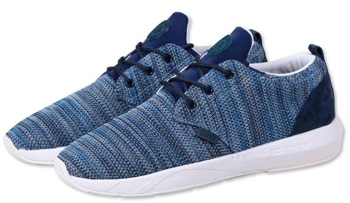 DJINNS Lau Run jamba mesh Blau Textilschuh/Sneaker Herren NEU
