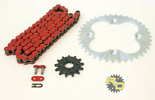 2005 2006 2007 2008 Honda TRX400EX TRX 400EX Red Chain And Sprocket 13/39