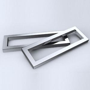Sogood Edelstahl Regalträger Regalhalterung Konsolenhalterung Silber 450mm