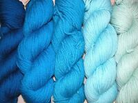 Ice Blue Family Paternayan Wool 3ply Persian Yarn Needlepoint Crewel