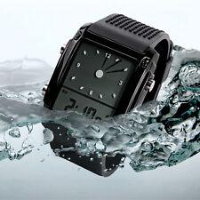 SKMEI Men's Band LED Digital Sports Waterproof Diving Quartz Wrist Watch black