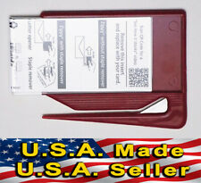 2 Red Zippy Business Card Letter Openers Sales Marketing Tradeshow
