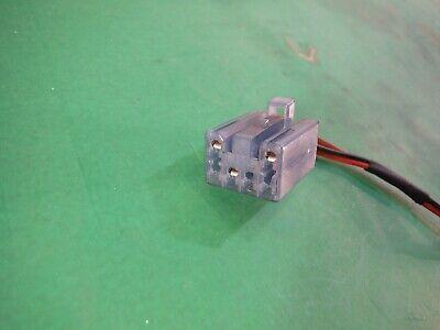 Miatamecca Used Air Bag Single Wire Female Connector Blue 90-05 Miata MX5 OEM