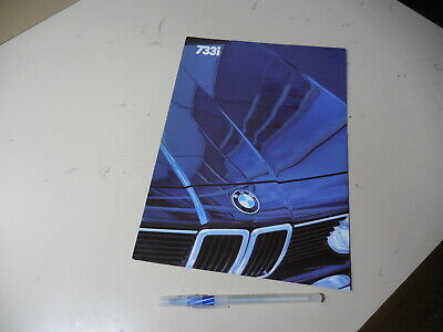 1983 BMW Line Sales Brochure 733i 633CSi 528e 318i