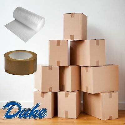 Bubble Tape NEW 20 X LARGE DOUBLE WALL Cardboard House Moving Removal Boxes