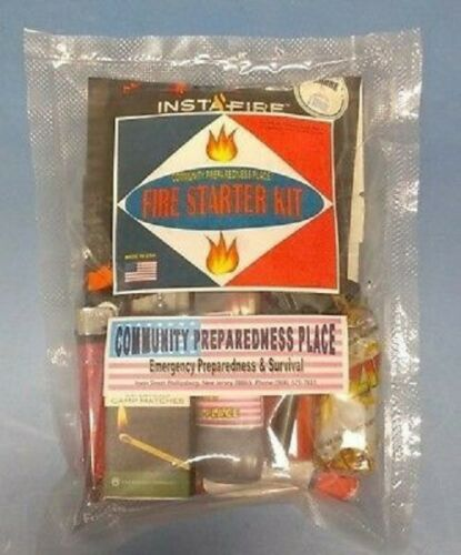 EDC Camping Tout u need Fire Starter Kit New Custom Made Urgences
