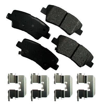 Disc Brake Pad Set-ProACT Ultra Premium Ceramic Pads Rear Akebono ACT1445