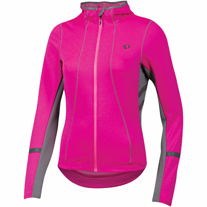 PEARL IZUMI    ELITE ESCAPE THERMAL HOODY   WOMENS PINK MEDIUM  official quality
