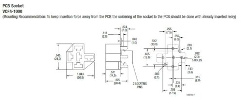 10 Sets-Carte De Circuit Imprimé Auto Relay Socket 5pin et 5pcs Terminal 6.3 mm Voiture Relais Support